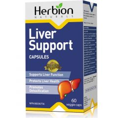 Herbion Liver Support, 60 Vegetable Capsules