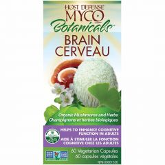 Host Defense MycoBotanicals Brain, Enhance Cognitive Function, 60 Capsules