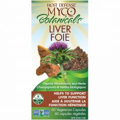 Host Defense MycoBotanicals Liver, 60 Capsules