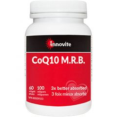 Innovite Health CoQ10 M.R.B. 100mg, 60 Softgels