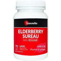 Innovite Health Elderberry (Clinically Studied) standardized extract, 90 Capsules (NEW!)