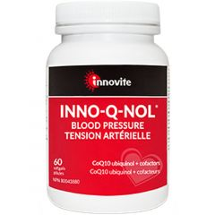 Innovite Health INNO-Q-NOL Blood Pressure, 60 Softgels