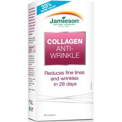 Jamieson Collagen, Anti-Wrinkle, 60 Capsules