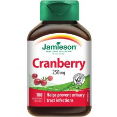 Jamieson Cranberry, 250mg, 100 Vegetable Capsules