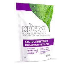 Krisda Spoonable Xylitol Sweetener, 454g Resealable Pouch