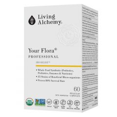 Living Alchemy Your Flora Professional, 60 Capsules