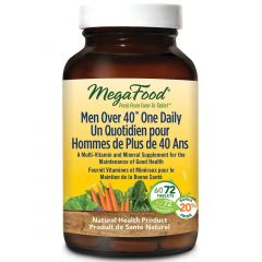 MegaFood Men Over 40 One Daily Multivitamin & Mineral Support