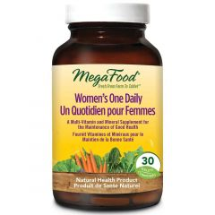MegaFood Women's One Daily, Multivitamin & Mineral Support