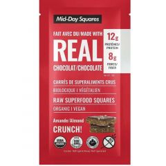 Mid-Day Raw Super Food Squares with real chocolate