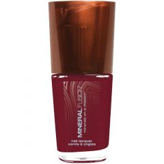 Mineral Fusion Nail Polish Mulberry, 10mL