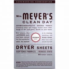 Mrs. Meyer's Clean Day Dryer Sheets, 80 Sheets
