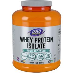 NOW 100% Natural Whey Isolate Protein (Microfiltered)