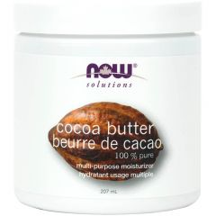 NOW 100% Pure Cocoa Butter, 207ml