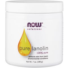NOW 100% Pure Lanolin Lotion, 207ml