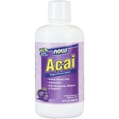 NOW Acai Juice Concentrate, 946ml