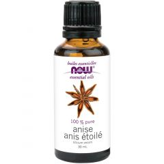 NOW Anise Oil (Aromotherapy), 30ml