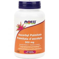 NOW Ascorbyl Palmitate, 500mg, 100 VCaps