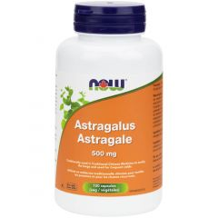 NOW Astragalus 500mg, 100 Capsules