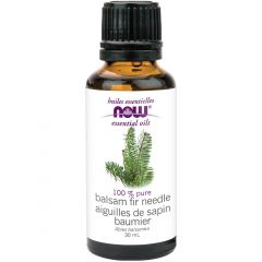 NOW Balsam Fir Needle Oil Pure (Aromatherapy), 30ml