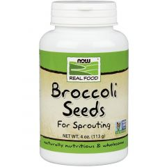 NOW Broccoli Seed for Sprouting, 113g