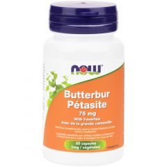 NOW Butterbur Extract 75mg/15%, 60 VCaps