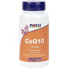 NOW CoQ10 100mg with Hawthorn