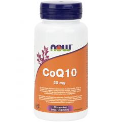 NOW CoQ10, 30mg, 60 VCaps