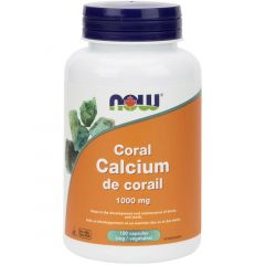 NOW Coral Calcium 1000mg, 100 VCaps
