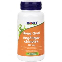 NOW Dong Quai, 520mg, 100 Capsules