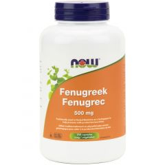 NOW Fenugreek, 500mg