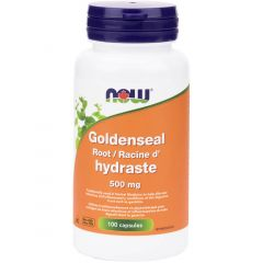 NOW Goldenseal Root, 500mg