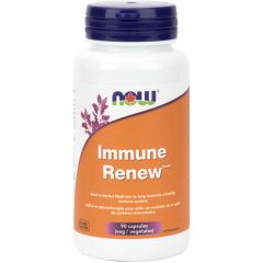 NOW Immune Renew, Mushroom Blend + Astragslus Root Extract, 90 VCaps