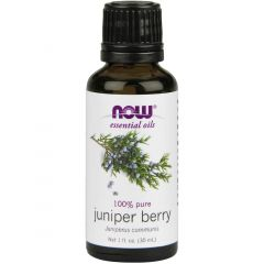 NOW Juniper Berry Oil (Aromatherapy), 100% Pure, 30ml
