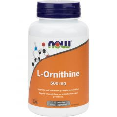 NOW L-Ornithine, 500mg