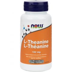 NOW L-Theanine, 100mg, 90 VCapsules