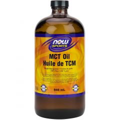 NOW MCT Oil, 100% Pure, 946ml