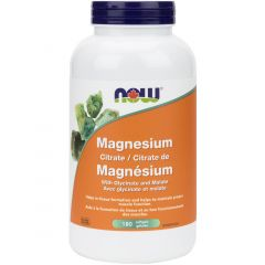 NOW Magnesium Citrate, 134mg, Softgels