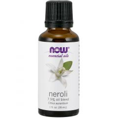 NOW Neroli, 7.5% Oil Blend (Aromatherapy), 100% Pure & Natural, 30ml