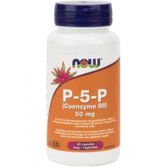 NOW P-5-P 50mg, 60 Vegetable Capsules