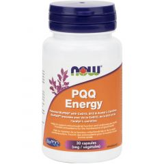 NOW PQQ Energy 20mg with Acetyl L-Carnitine, 30 Vcaps