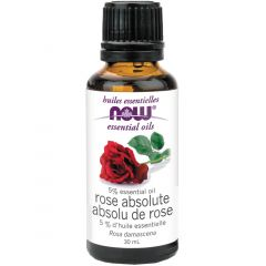 NOW Rose Absolute, 5% Oil Blend (Aromatherapy), 100% Pure & Natural, 30ml