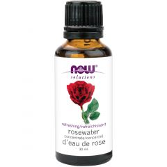 NOW Rosewater Concentrate (Topical), 30ml