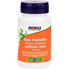 NOW Saw Palmetto, Standard Extract, 160mg