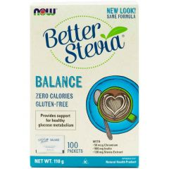 NOW Stevia Balance, 100 X 1g Packets