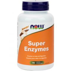NOW Super Enzymes Tablets (Optimize Nutrient Absorption), 90 Tablets