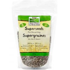 NOW Superseeds, Flax/Chia/Hemp, 350g