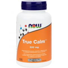 NOW True Calm Relaxer, with GABA+, 90 Vcaps
