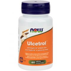 NOW Ulcetrol with PepZen GI, 60 Tablets