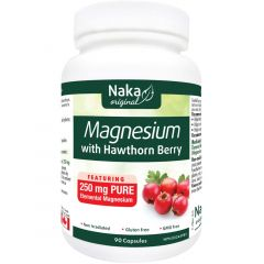 Naka Herbs Magnesium Citrate with Hawthorn Berry 250mg