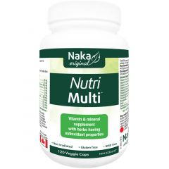 Naka Herbs Nutri Multi Multivitamin with Minerals and Herbs (Gluten-Free)